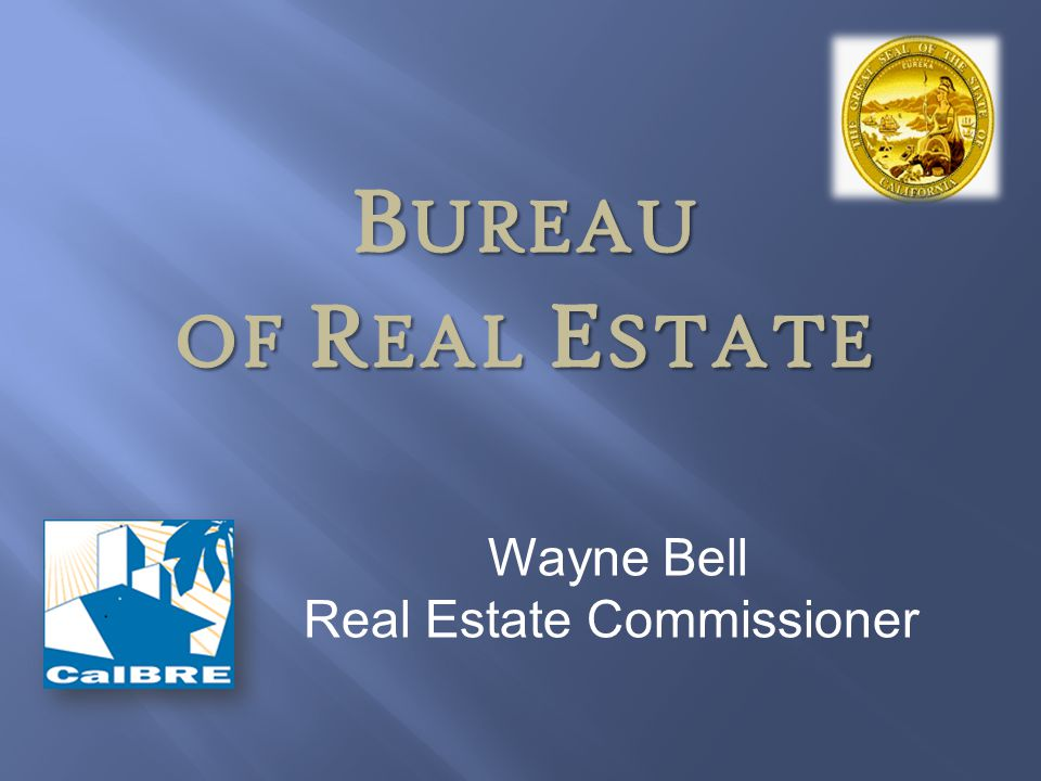 Real Estate Commissioner