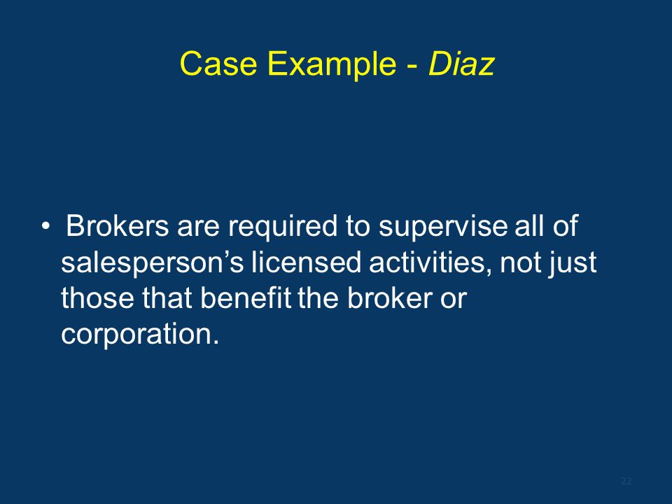 Case Example - Diaz