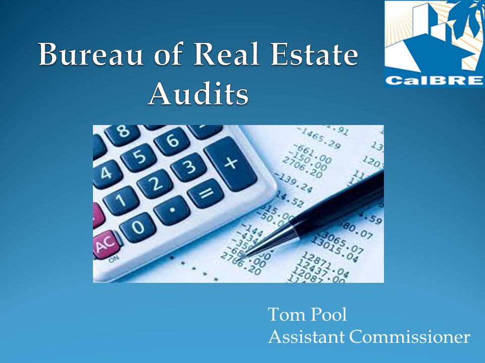 Bureau of Real Estate Audits