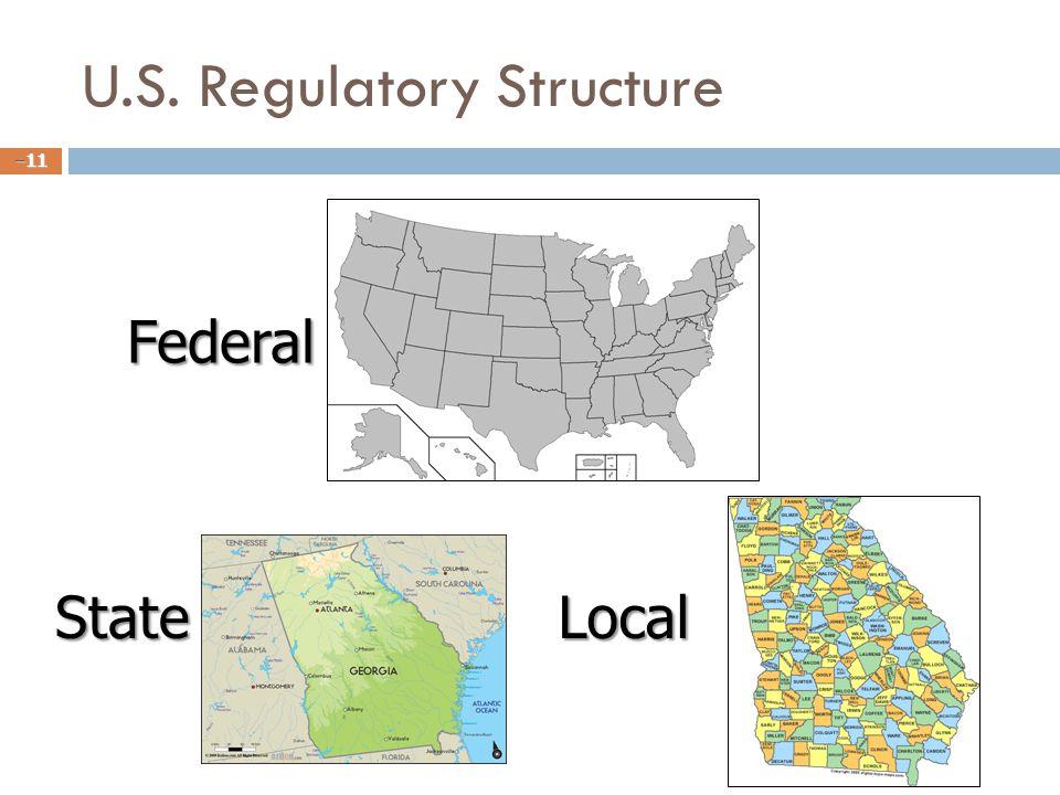 U.S. Regulatory Structure