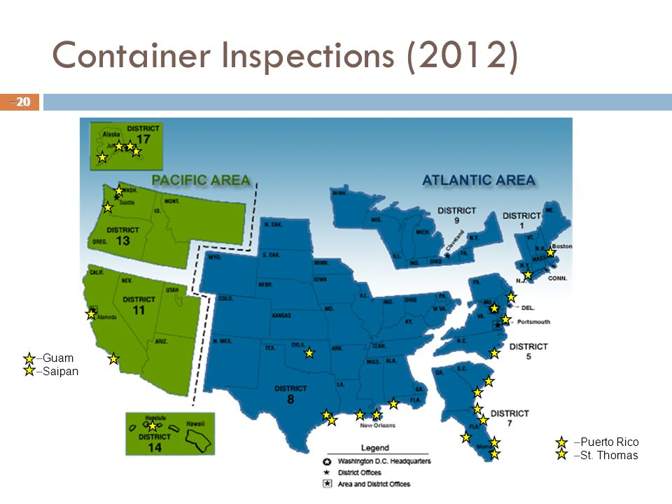 Container Inspections (2012)