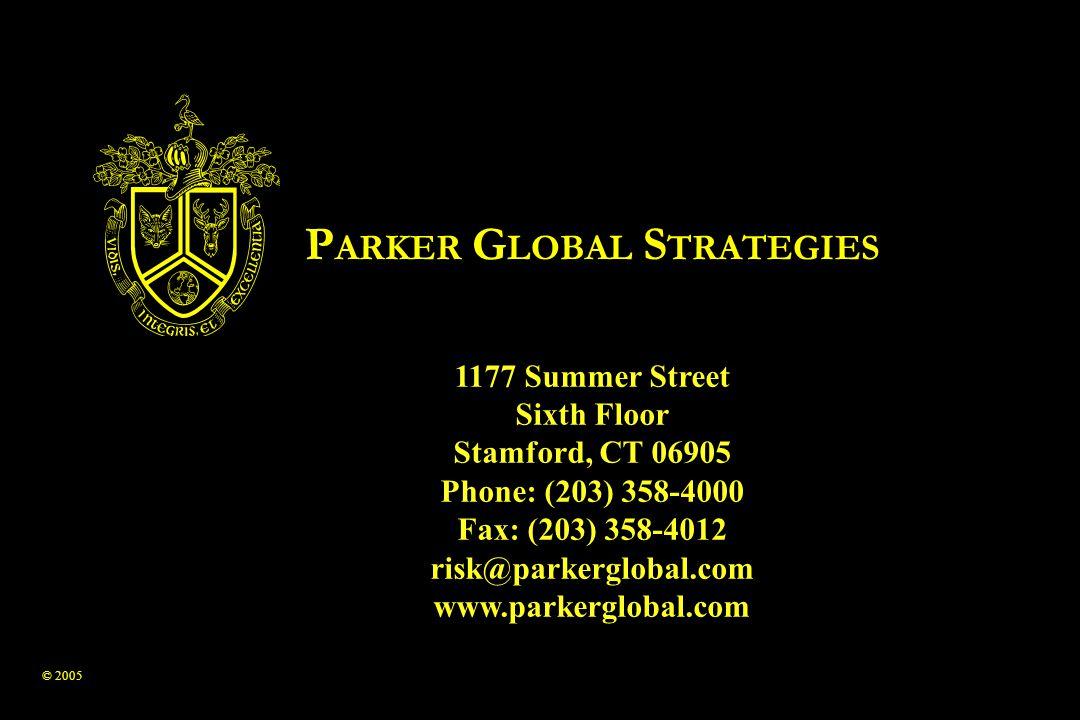PARKER GLOBAL STRATEGIES
