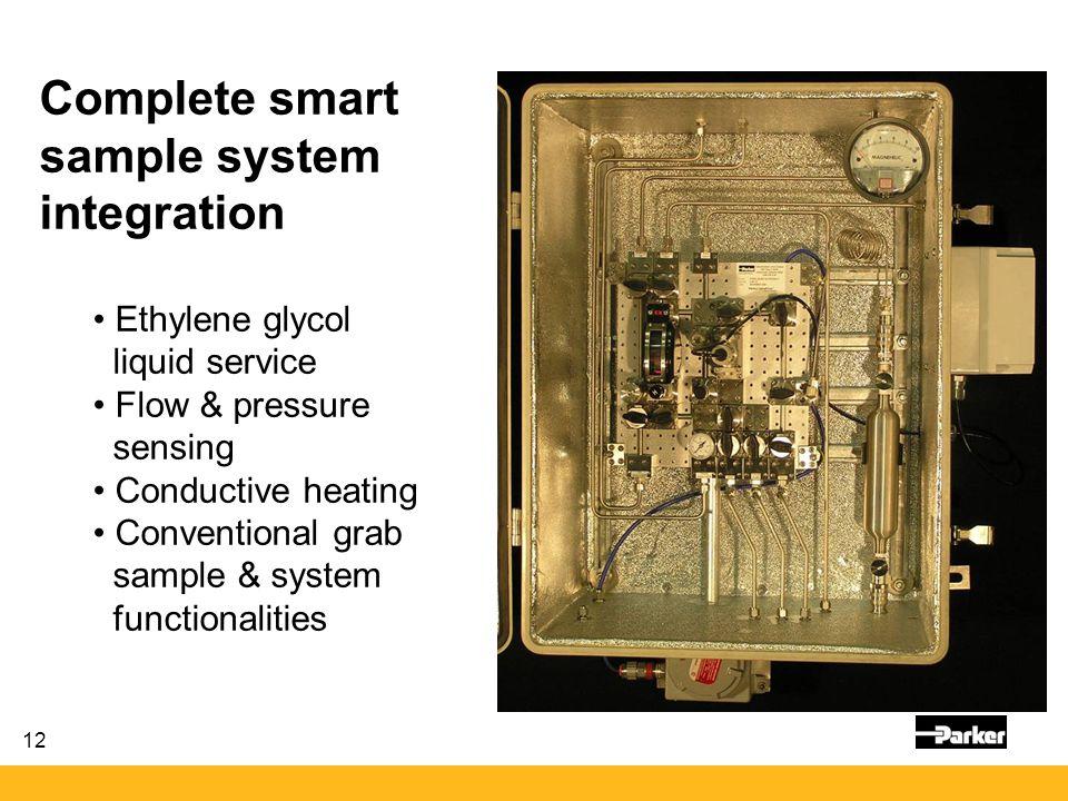 Complete smart sample system integration