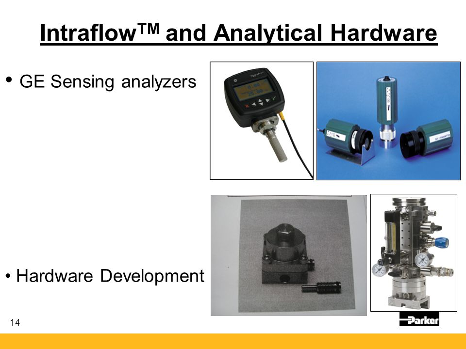 IntraflowTM and Analytical Hardware