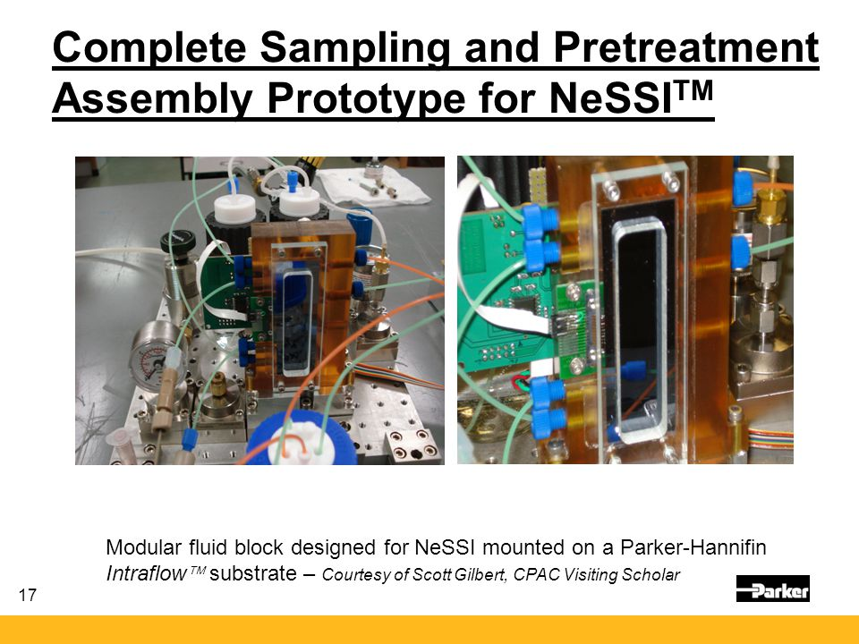 Complete Sampling and Pretreatment Assembly Prototype for NeSSITM
