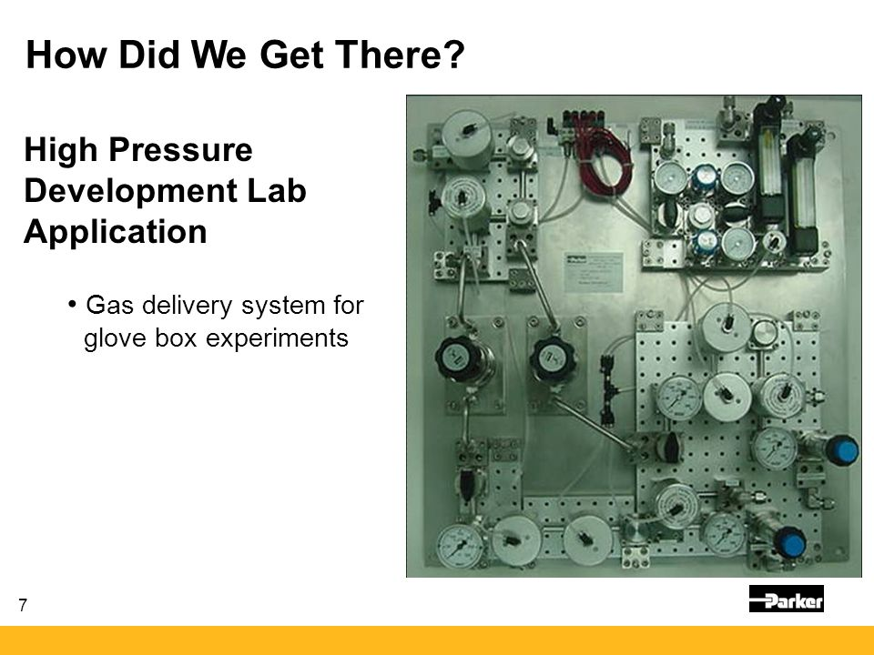 How Did We Get There High Pressure Development Lab Application