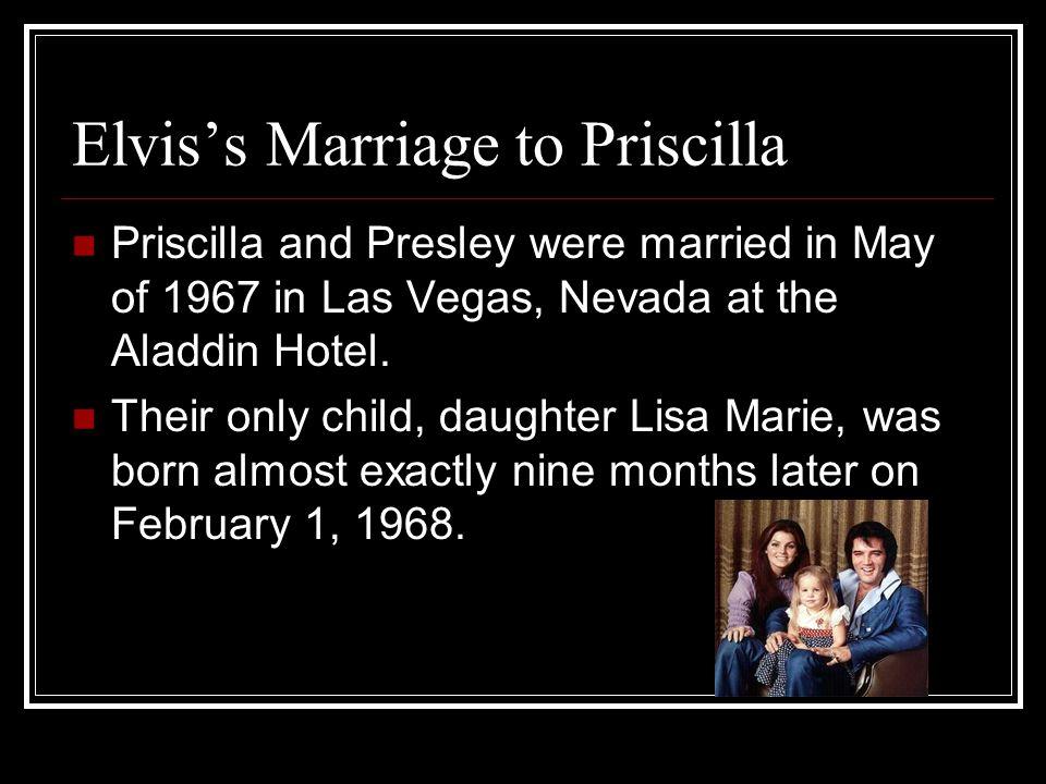 Elvis's Marriage to Priscilla