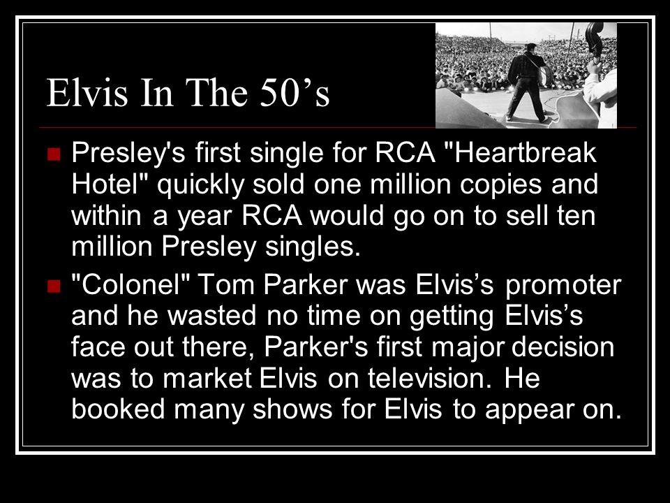Elvis In The 50's