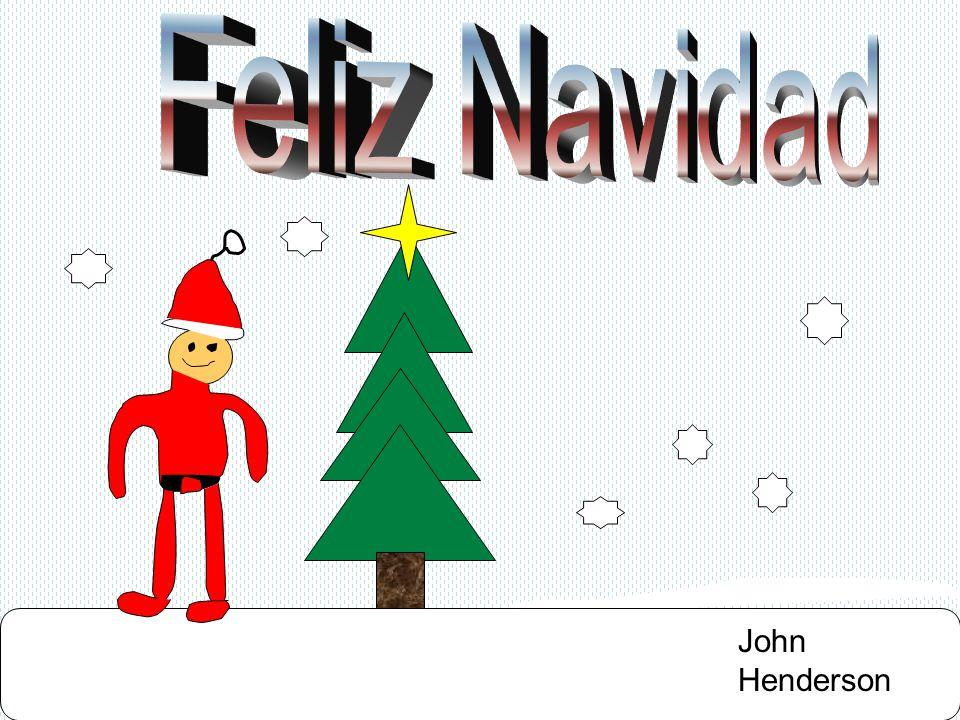 Feliz Navidad John Henderson