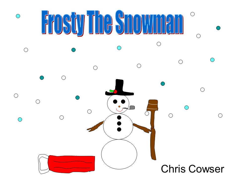 Frosty The Snowman Chris Cowser