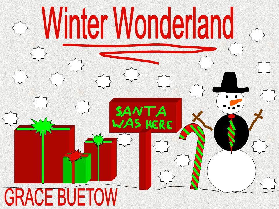 Winter Wonderland GRACE BUETOW