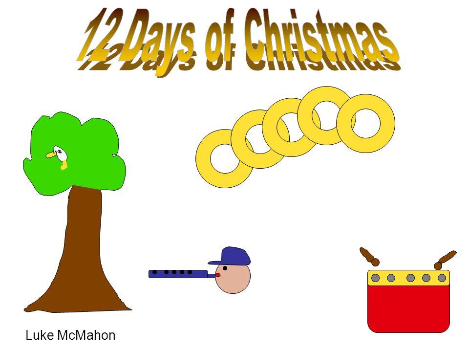 12 Days of Christmas Luke McMahon