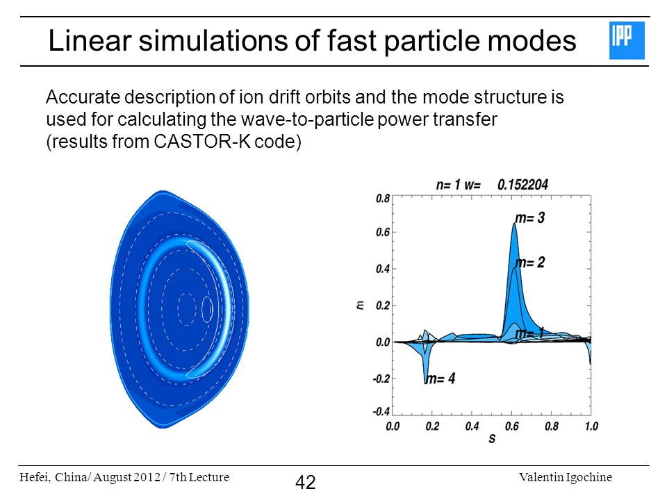 Linear simulations of fast particle modes