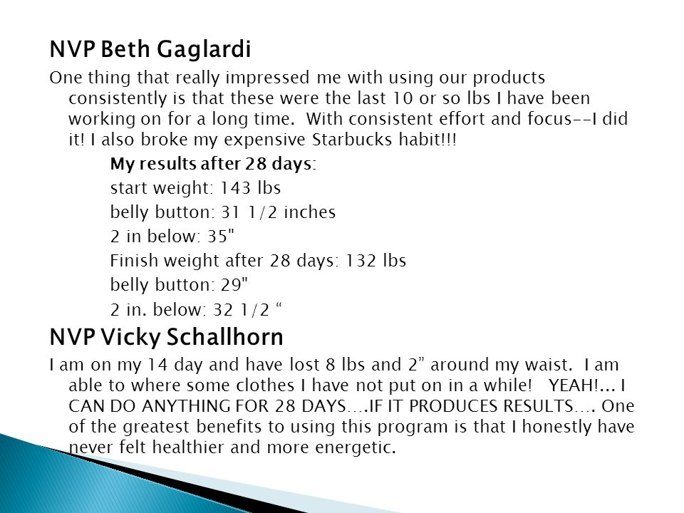 NVP Beth Gaglardi NVP Vicky Schallhorn