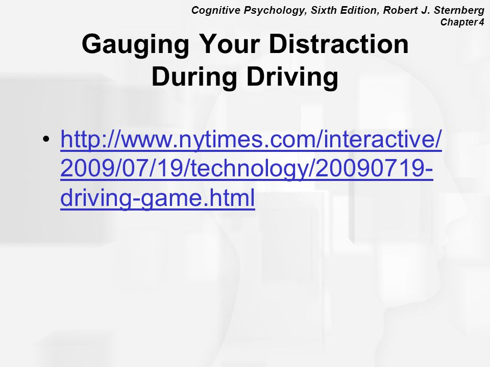 Gauging Your Distraction During Driving