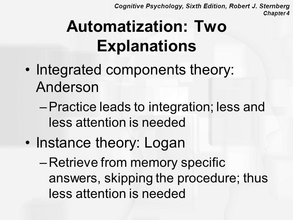 Automatization: Two Explanations
