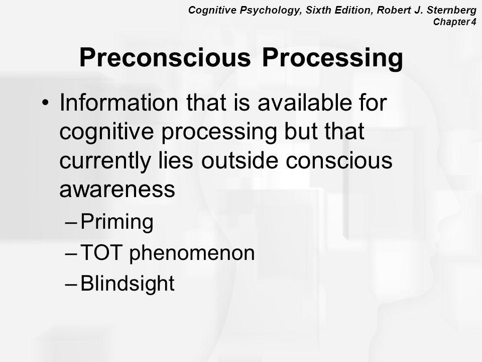 Preconscious Processing
