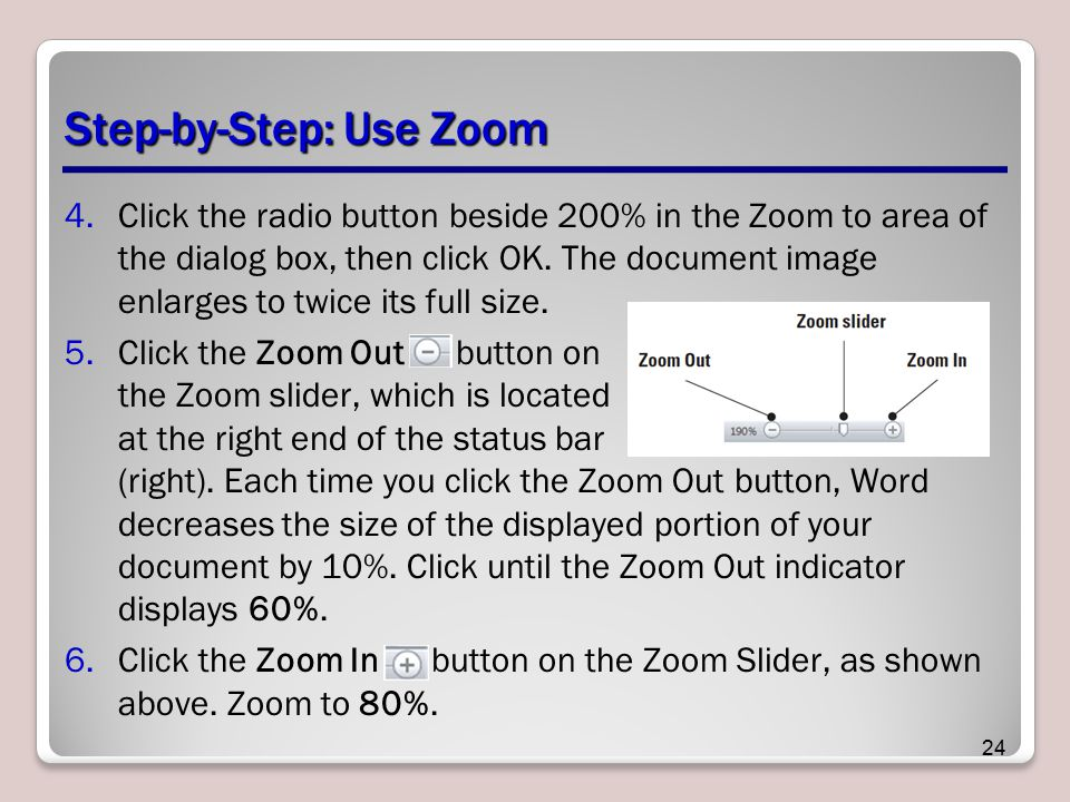 Step-by-Step: Use Zoom