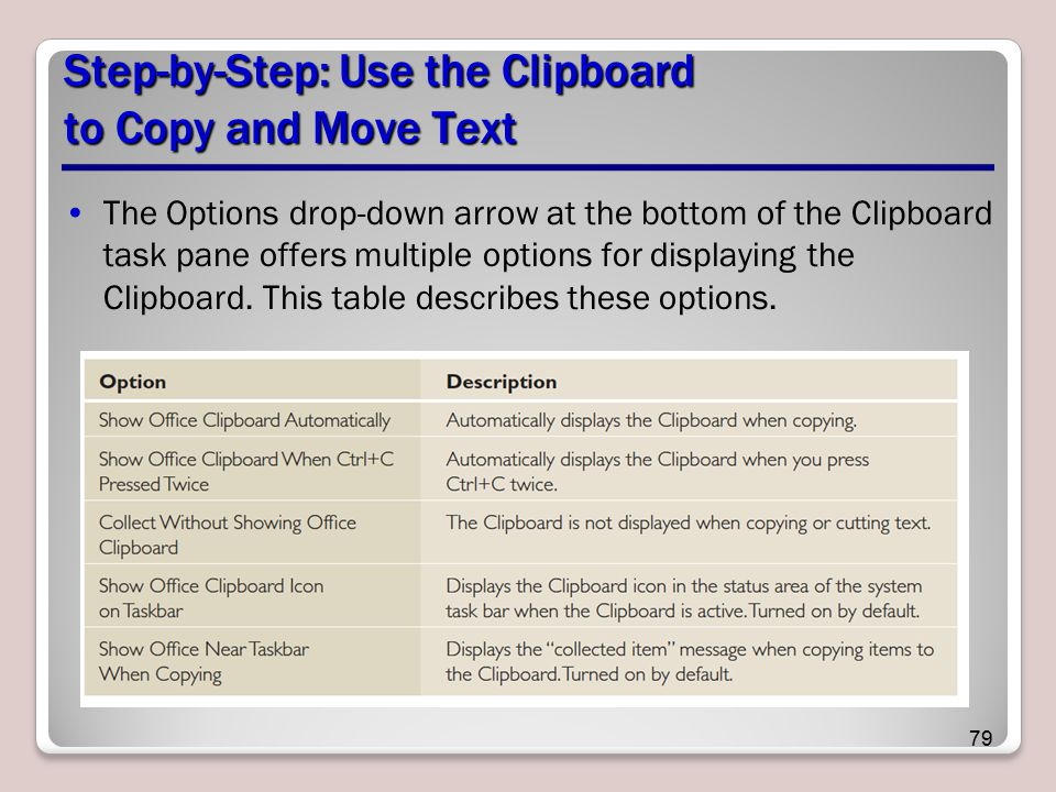Step-by-Step: Use the Clipboard to Copy and Move Text