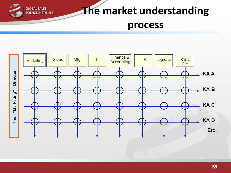 The market understanding process