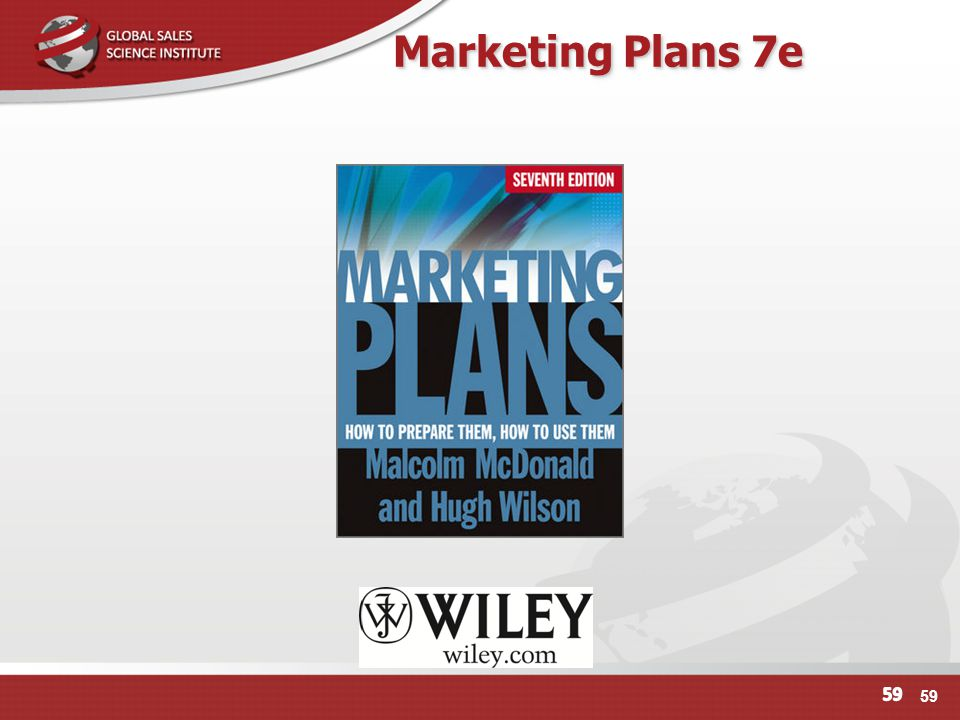 Marketing Plans 7e 59