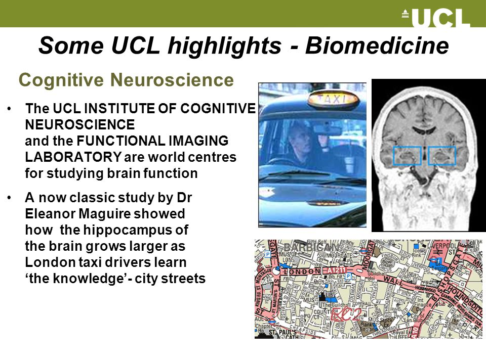 Some UCL highlights - Biomedicine