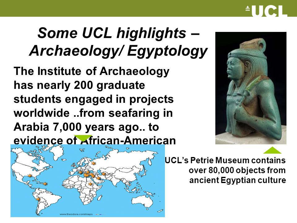 Some UCL highlights – Archaeology/ Egyptology