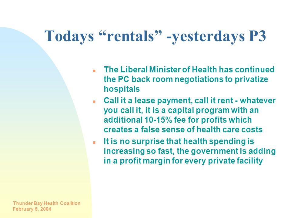 Todays rentals -yesterdays P3