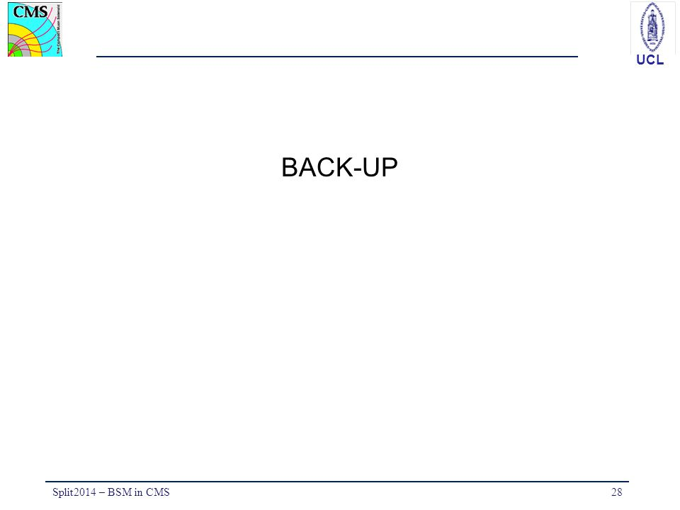 BACK-UP Split2014 – BSM in CMS