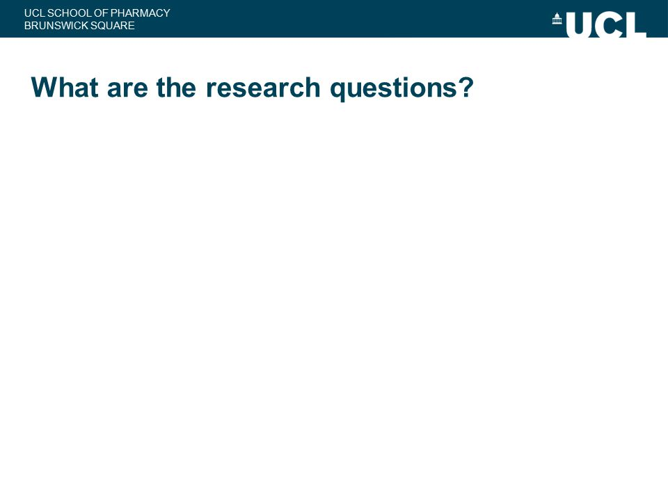 What are the research questions