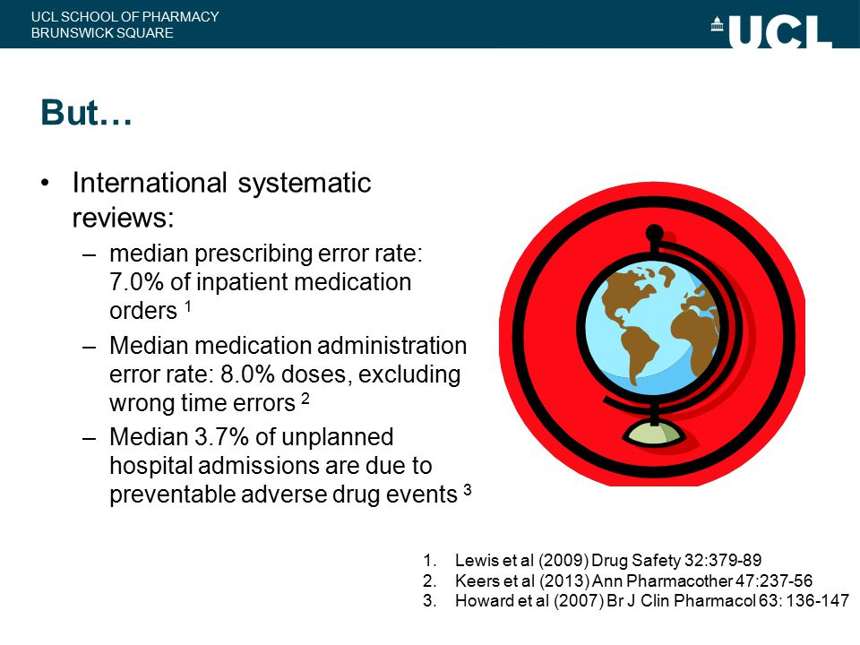 But… International systematic reviews: