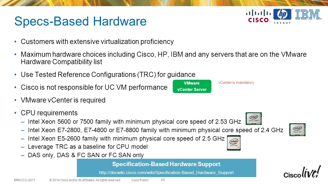 Specification-Based Hardware Support