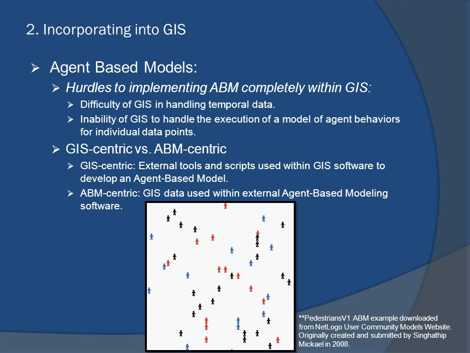 2. Incorporating into GIS