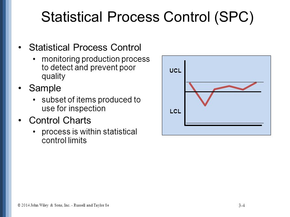 statistical process control assigment Control and spc is used as a way to track a procedure controlling and tracking the procedure ensures that it functions at its full potential so, statistical process control and design of experiments are fundamental components of a variability reduction plan as well as priceless techniques.