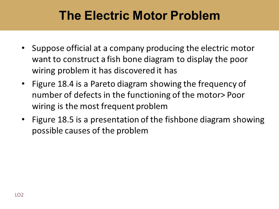 The Electric Motor Problem