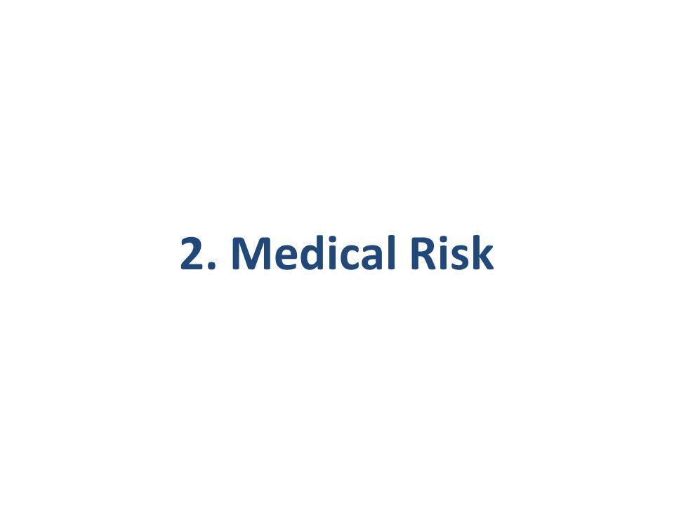 2. Medical Risk