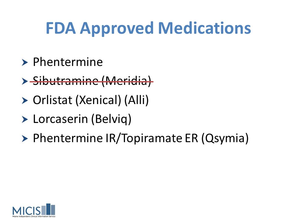 FDA Approved Medications