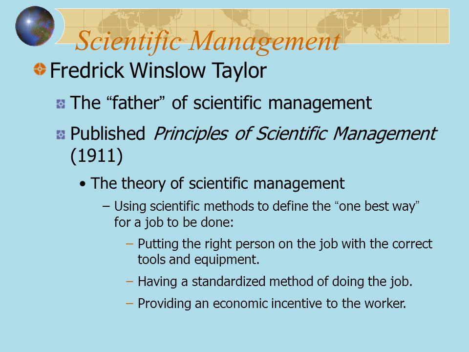 Scientific Management
