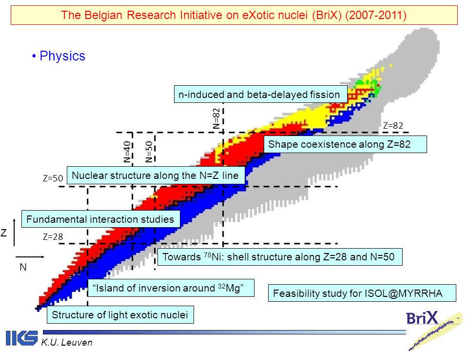 The Belgian Research Initiative on eXotic nuclei (BriX) (2007-2011)