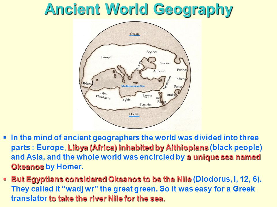 Ancient World Geography