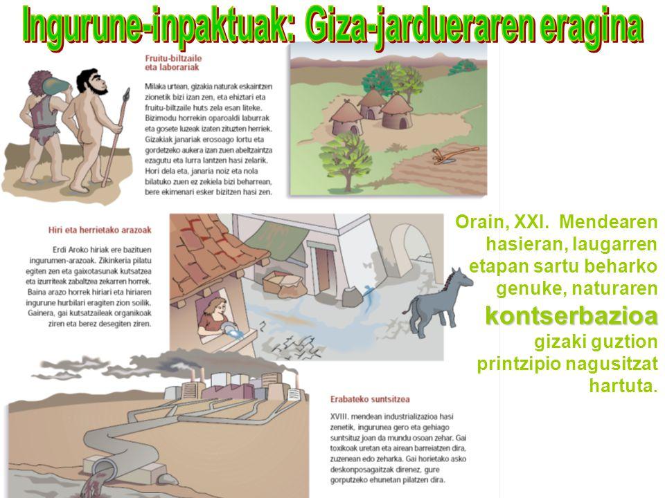 Ingurune-inpaktuak: Giza-jardueraren eragina