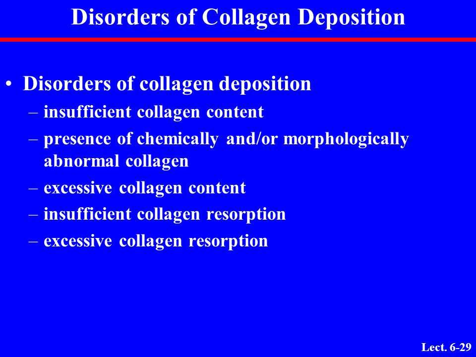 Disorders of Collagen Deposition