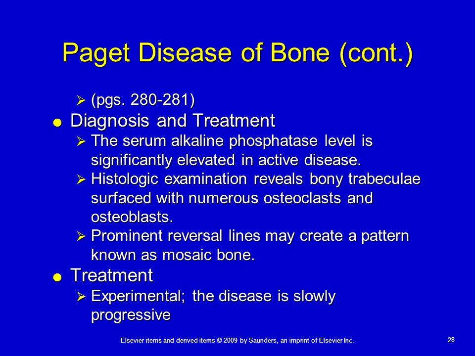 Paget Disease of Bone (cont.)