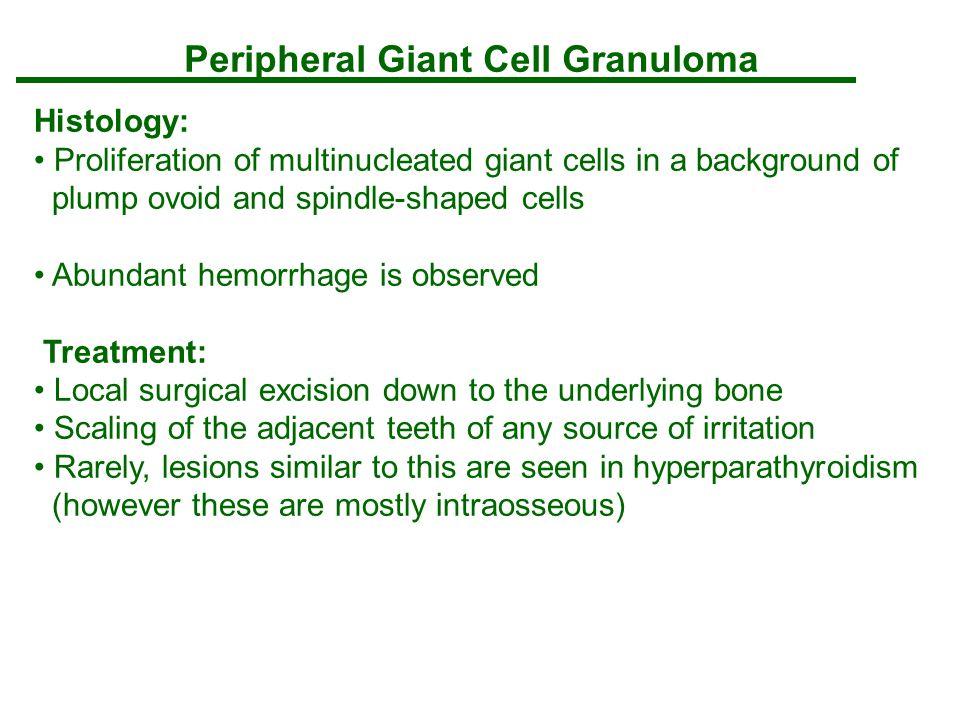 Peripheral Giant Cell Granuloma