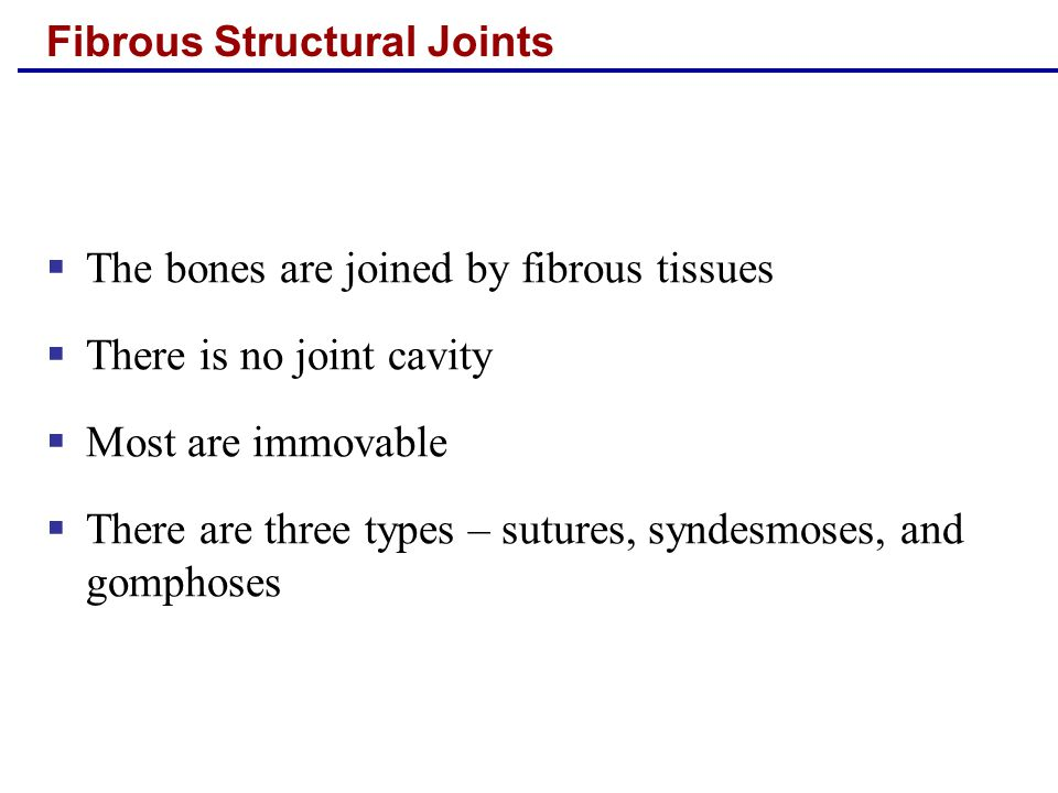 Fibrous Structural Joints