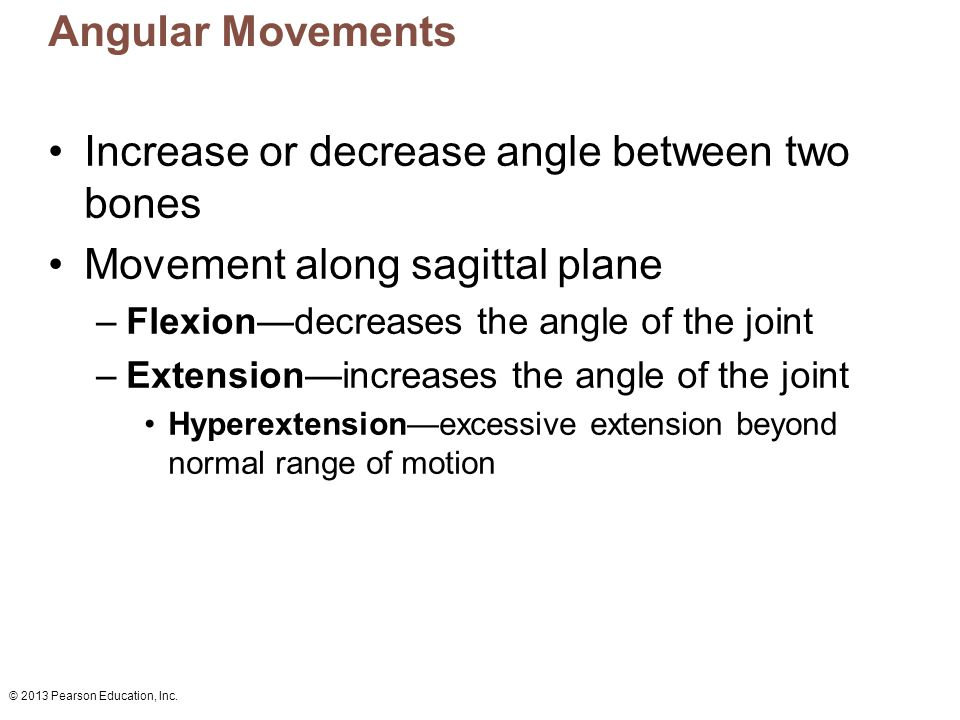 Increase or decrease angle between two bones