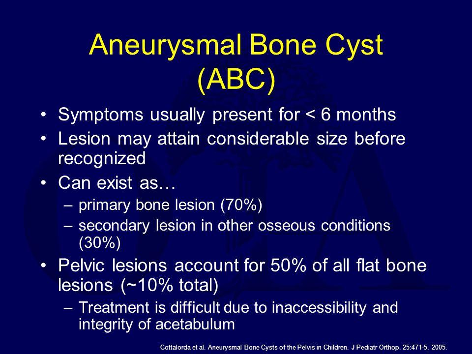 Aneurysmal Bone Cyst (ABC)