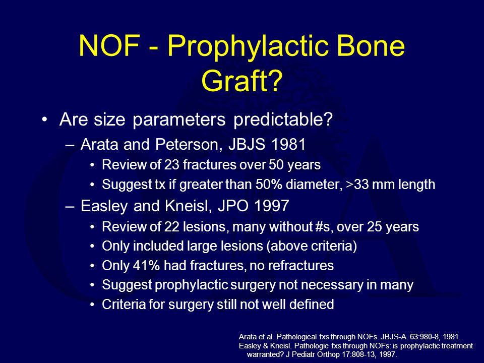 NOF - Prophylactic Bone Graft