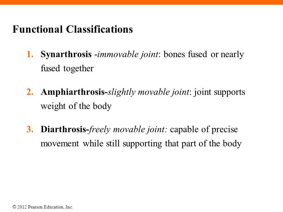 Functional Classifications