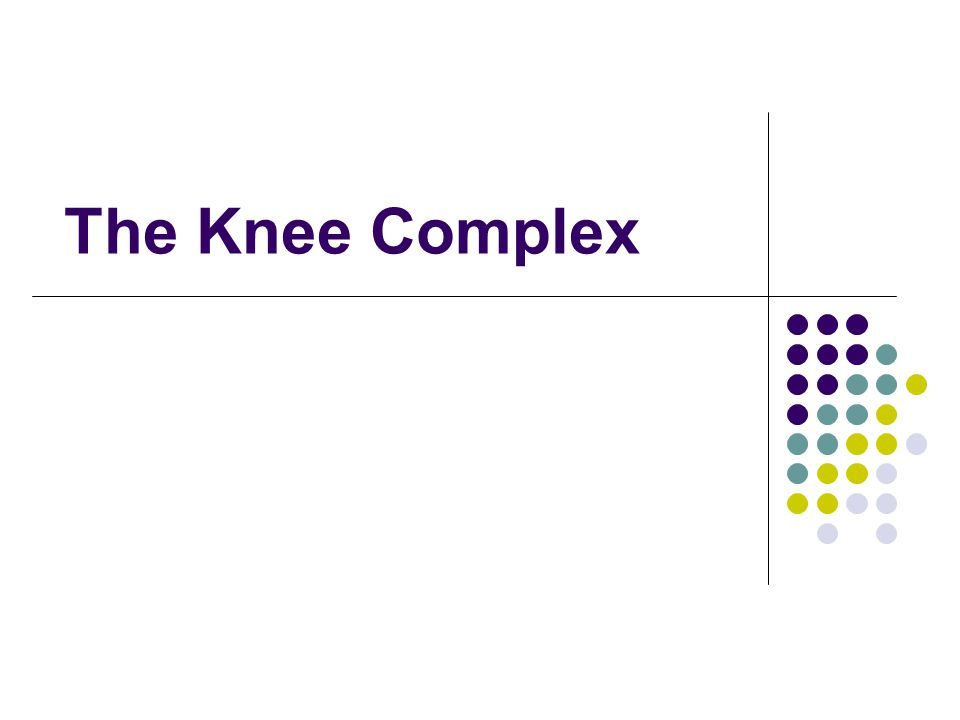 The Knee Complex